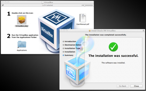 Install Virtual Box in Mac OS X